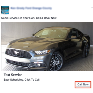 facebook local awareness ad example